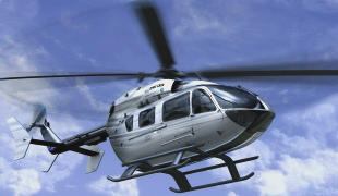 small helicopter for aircraft appraiser